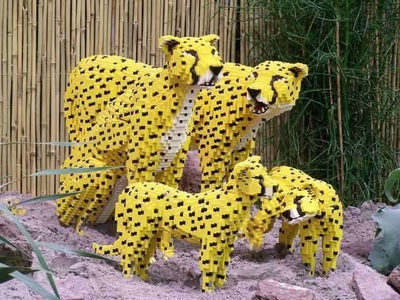lego cheetah family