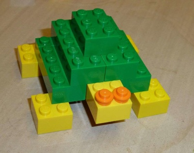 simple lego turtle